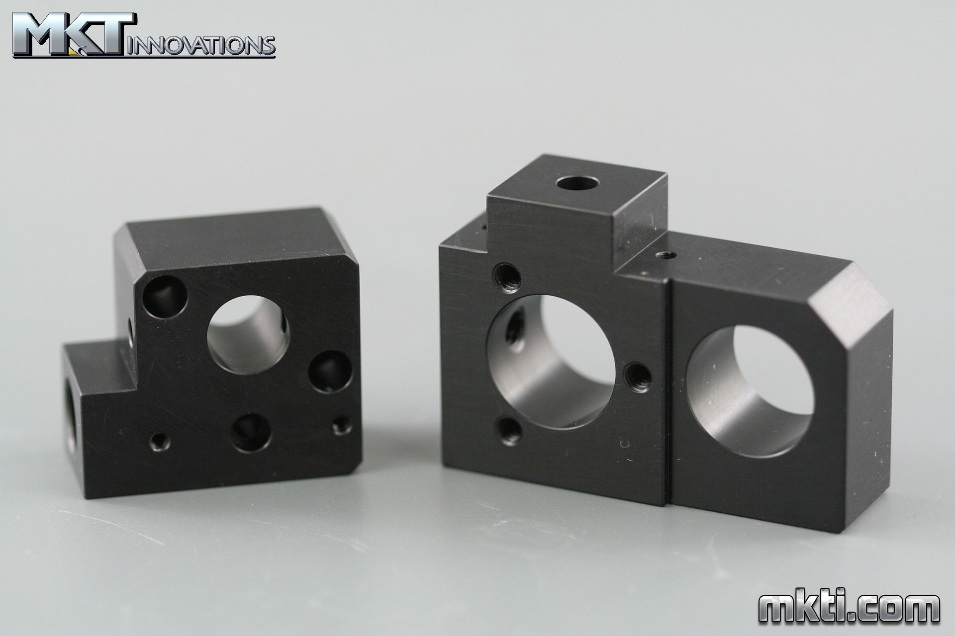 Anodized Aluminum - Pump Components