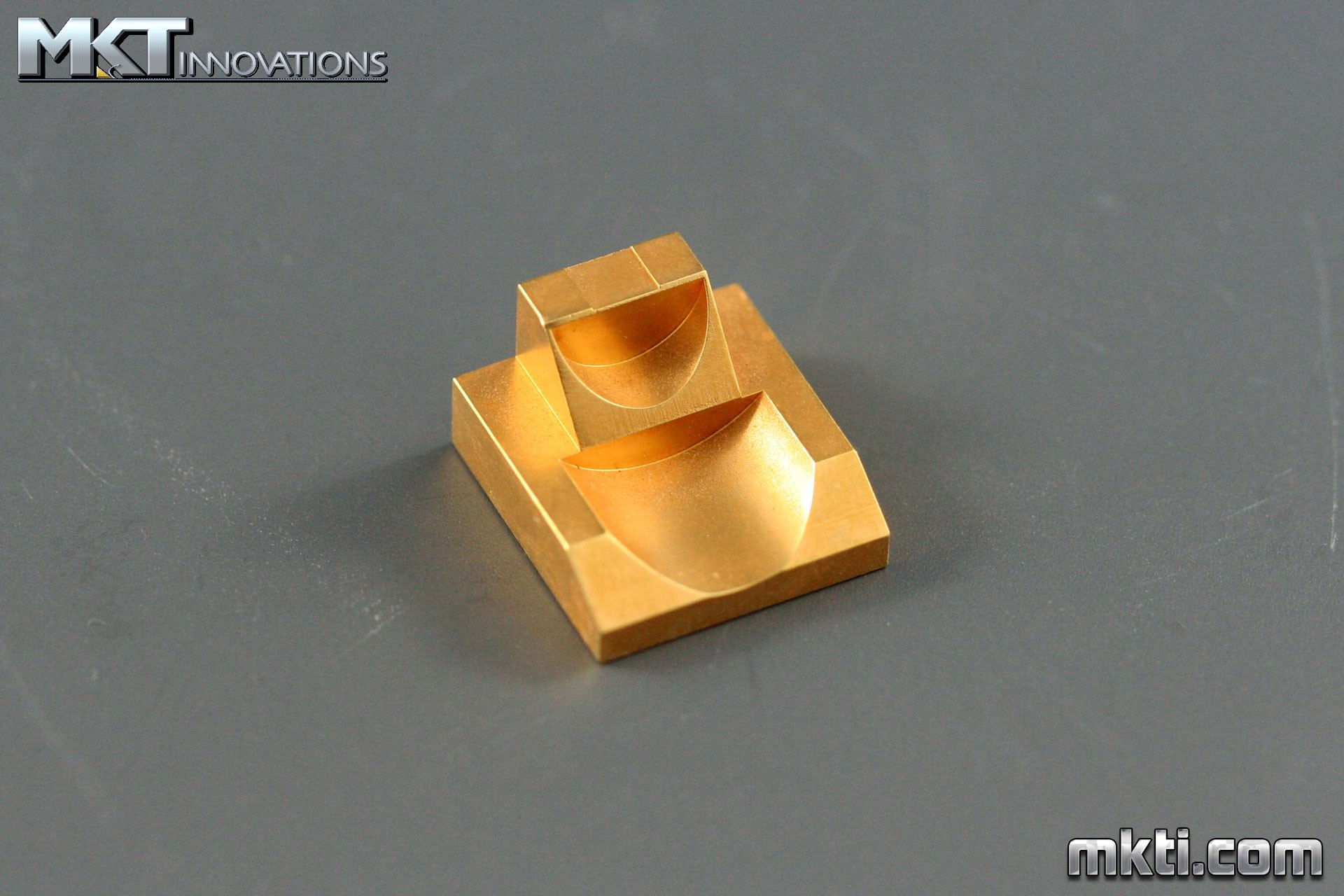 Gold Plated Copper - Laser Mount
