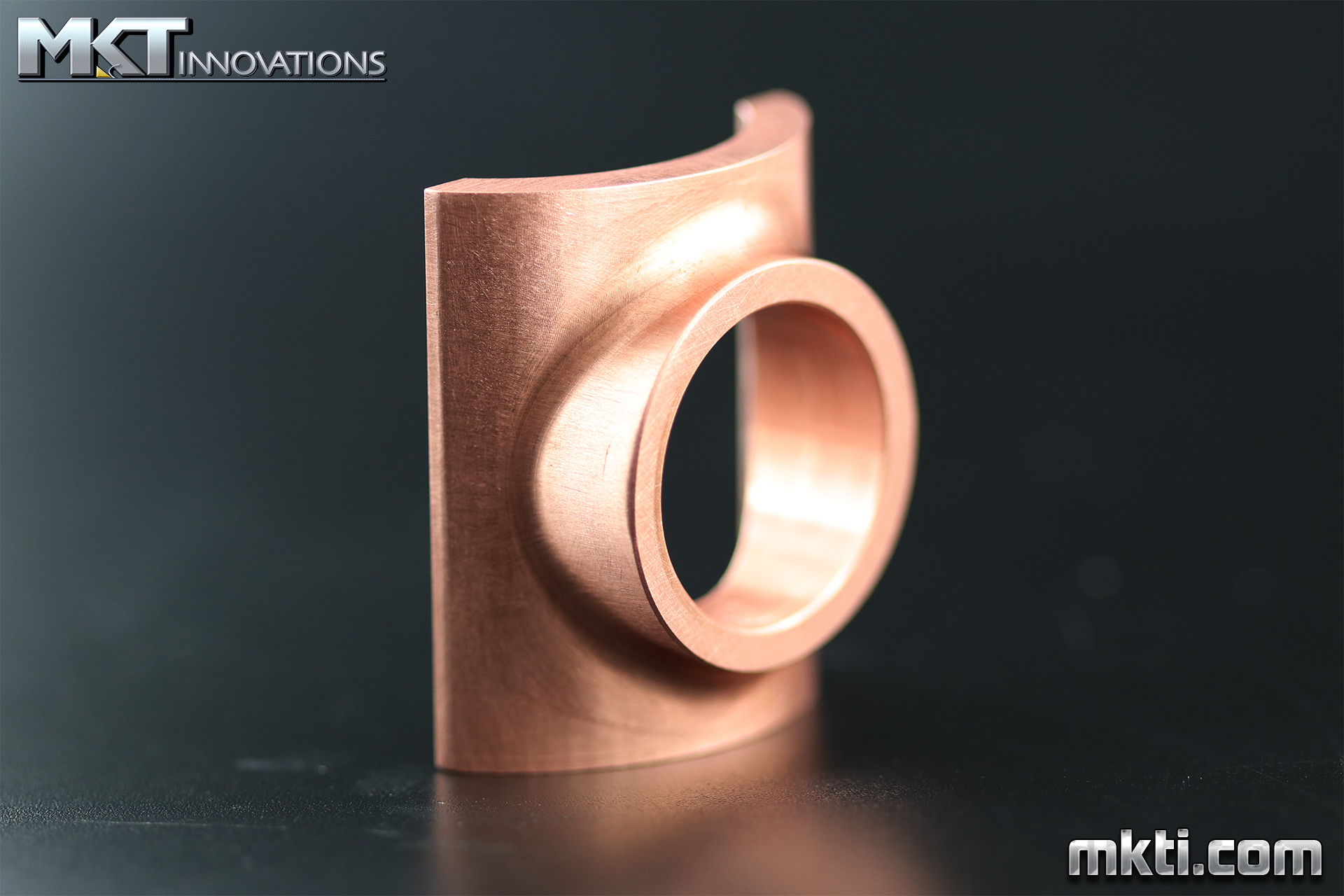 Machined Copper Fitting